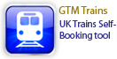 GTM Trains - UK Trains Self-Booking Tool